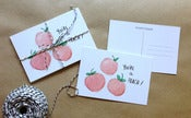 Image of you're a peach postcards