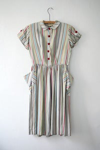 Image of Stripe Carnival Dress