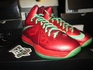 "Image of LeBron X (10) ""December 25th"""