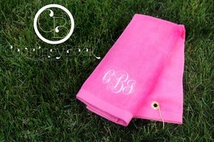 Image of Golf Towels with Grommet