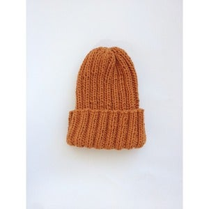 Image of Double Rib Toque | Saffron