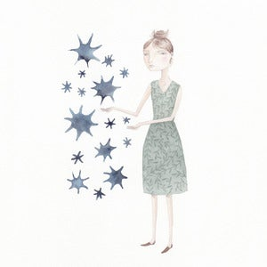 Image of Seeing Stars-original drawing