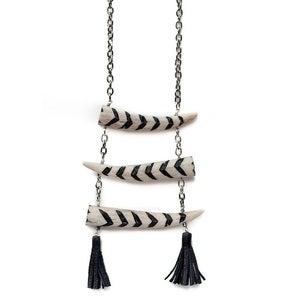 Image of JAKIMAC - Tower Antler Necklace