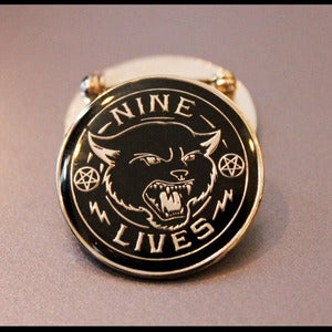 Image of Nine Lives Pin Badge