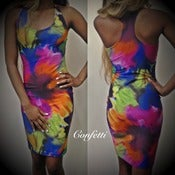 Image of Confetti Lily Racer Dress