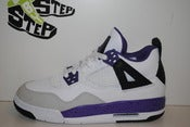 "Image of Girl's Air Jordan IV ""Violet"" (GS)"