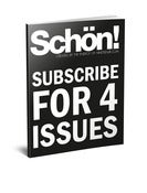 Image of 4 Issues of Schön! Magazine