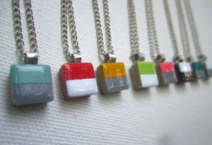 Image of Color Block Necklace