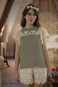 Image of English Tea Top (dusty green)
