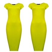 Image of Yellow Bone Dress