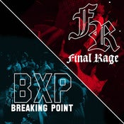"Image of Breaking Point / Final Rage split 7"" ALL COLOUR BUNDLE - PRE ORDER"