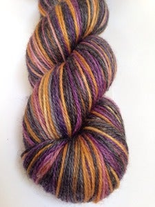 Image of Gypsy - GothSock self striping - Ricin luxury yarn - Bamboo blend - 440yds