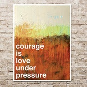 Image of courage with alexandra franzen