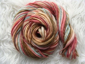 Image of Handspun BFL Yarn - Frosty Feet