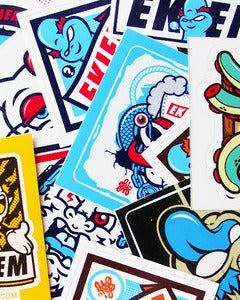 Image of Assorted Stickers Pack