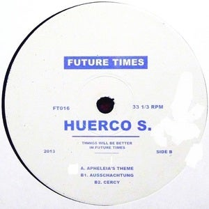 "Image of Huerco S - Apheleias Theme - 12"" (Future Times)"