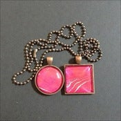 Image of Hot Pink in Antique Copper