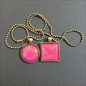 Image of Hot Pink in Antique Brass