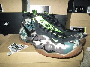 "Image of Air Foamposite Pro Premium LE ""Army Camo"""