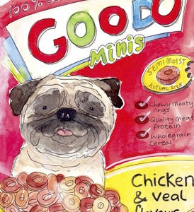 Image of Goodo Doggie Treats Original Painting