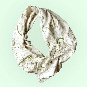 Image of Loop Scarf - Olive Quartz