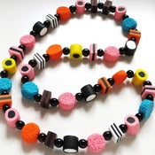 Image of Liquorice Allsorts Necklace