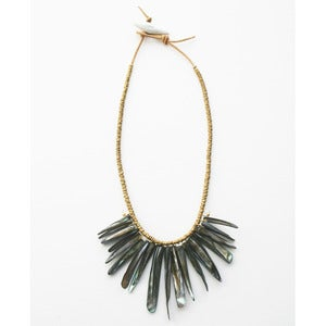 Image of Shell Bib Necklace