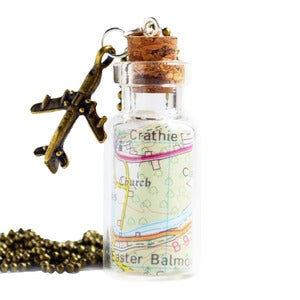 Image of Bottled Treasures - Traveller Necklace