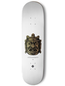 Image of SKATEBOARD DECK (White) | Mahakala