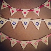 Image of mini triangle bunting