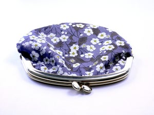 Image of Coin purse / Daisies / Grey