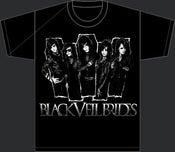 Image of Black Veil Brides (Front/Back) Coffin Group - T-Shirt