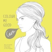 Image of CARA DELEVINGNE COLOURING BOOK