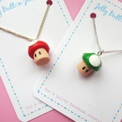 Image of 2UP Mushroom Necklace