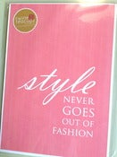 Image of ONE ONLY - Style never goes out of fashion - pink