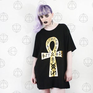 Image of GOLD Ankh Tee