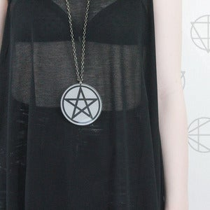 Image of PENTACLE Round Pendant