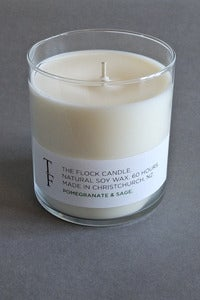 Image of The Flock candle - pomegranate and sage