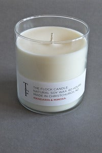 Image of Flock candle - mandarin and mimosa