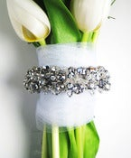 Image of Gari Rhinestone Bouquet Wrap