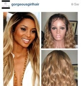 "Image of Ciara Celebrity Style Loose Wave 20"" Full Lace Wig! Blonde with #4 Roots"