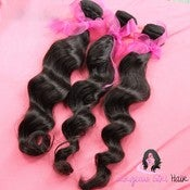 Image of Virgin Brazilian Body Wave 3 Bundles + Closure SALE!!