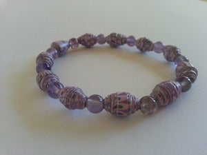 Image of Heal and Cleanse - Lavender AYA Bracelet
