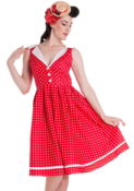 Image of Hell Bunny Karen Dress - regular sizes