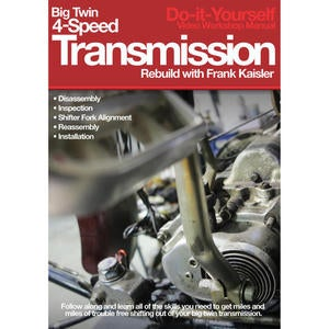 Image of Big Twin 4-Speed Transmission Rebuild DVD