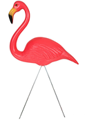 Image of Pink Lawn Flamingo