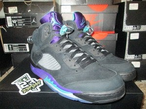"Image of Air Jordan V (5) Retro ""Black Grape"""