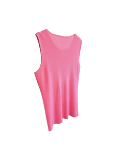 Image of Issey Miyake PLEATS PLEASE pink top