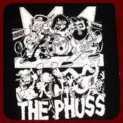 Image of The Phuss - Mosh Pit T-Shirt Black Shirt