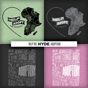 Image of HYDE ADOPTION! / Love Is Thicker Than Water